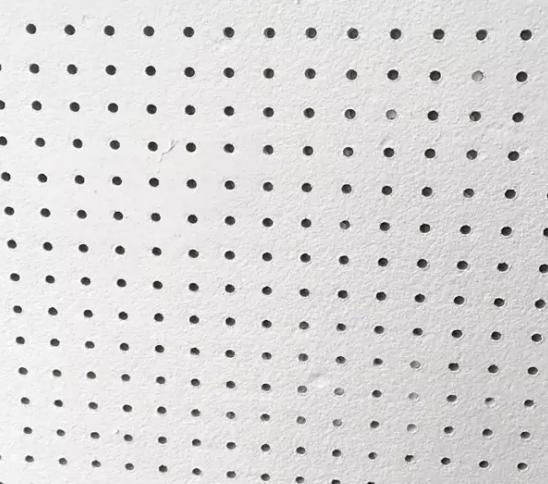 半穿孔珍珠岩穿孔复合吸声板安装样板图、示意图